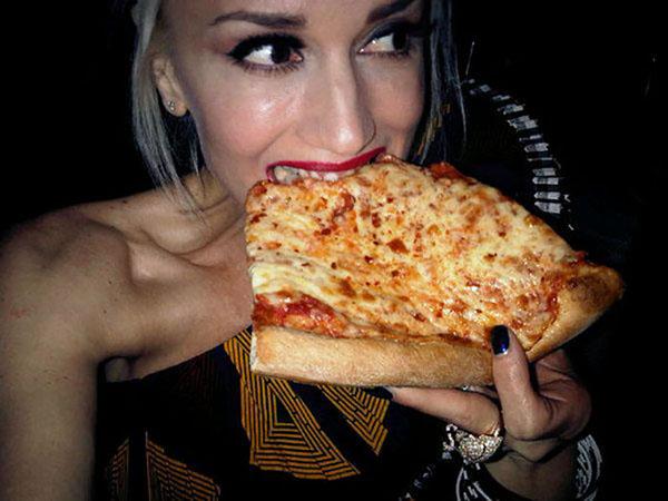 Gwen Stefani pizza