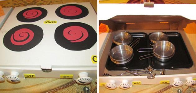 reciclar cajas de pizza
