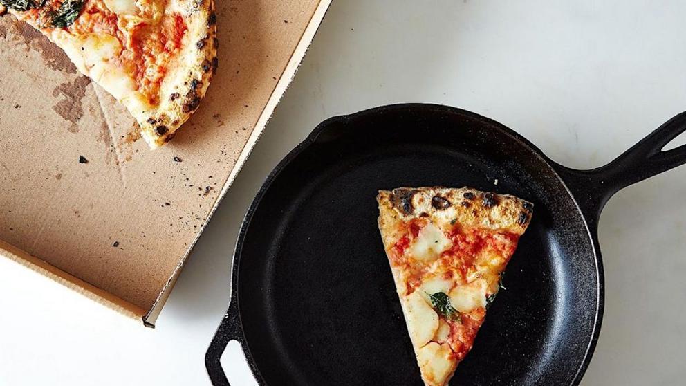 Precalentar pizza