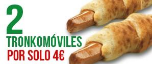 2 Tronkos x 4€