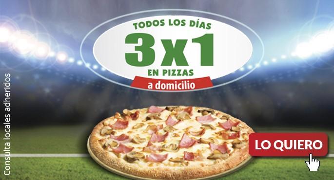Pizza Móvil y la pizza del Mundial