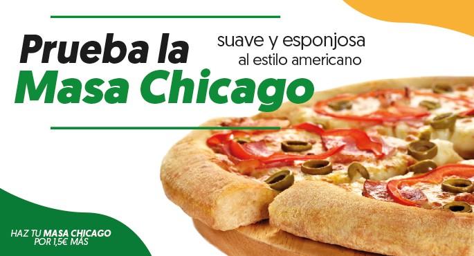 Masa Chicago de Pizza Móvil