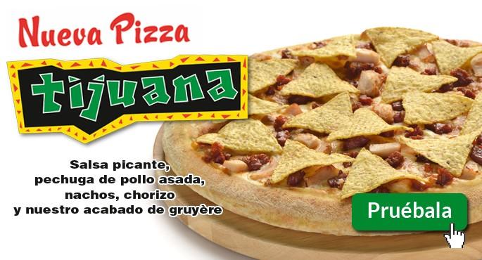 Nueva pizza Tijuana